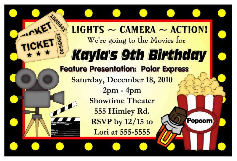 Business Birthday Invitations
