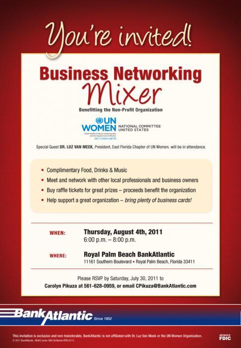 Business Event Invitation Wording Samples