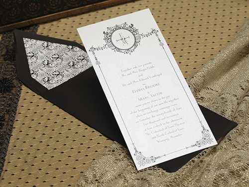 Carlson Craft Wedding Invitations Candlelight Collection