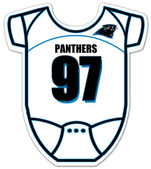Carolina Panthers Baby Shower Invitation