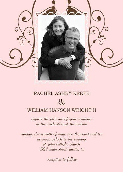 Casual Wedding Invitation Templates