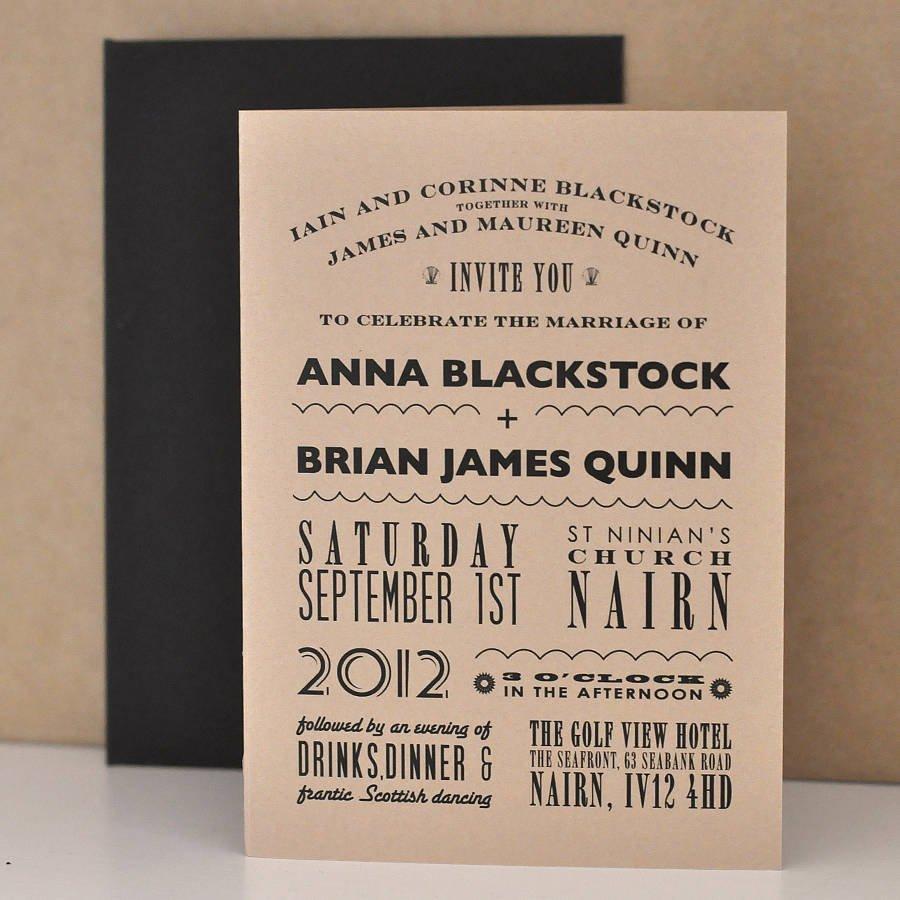 Casual Wedding Invitation Wording Ideas
