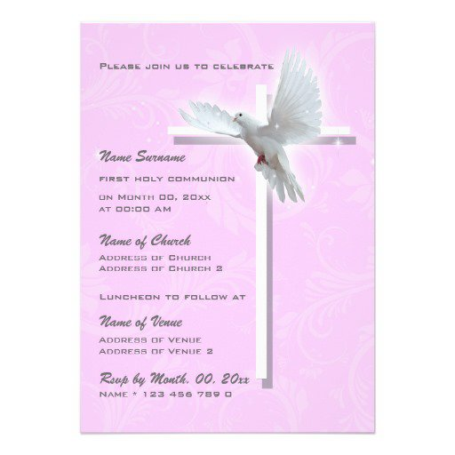 Catholic Confirmation Invitations Wording