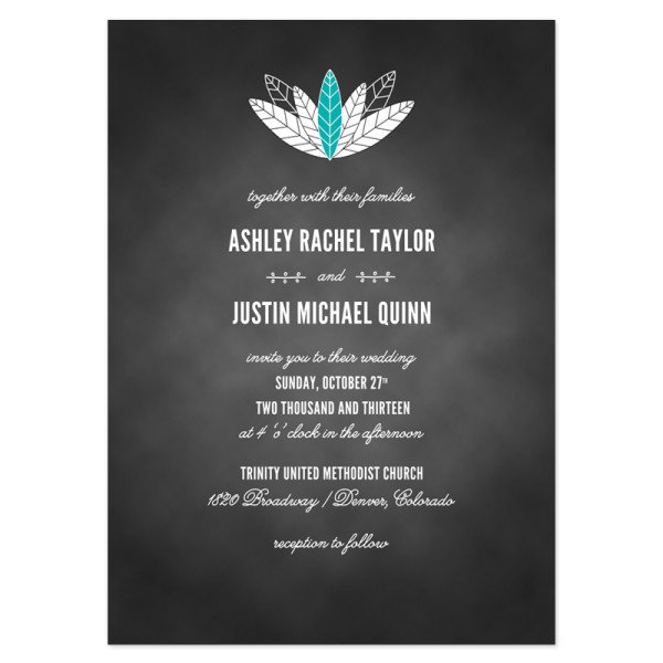 Chalkboard Wedding Invitations Free