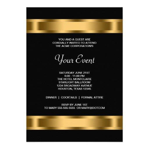 Charity Event Invitation Template