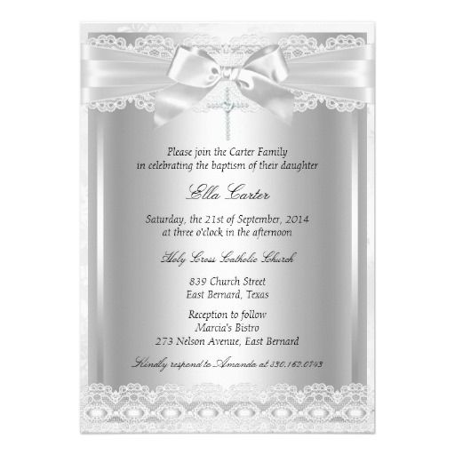 Christening And Birthday Invitations