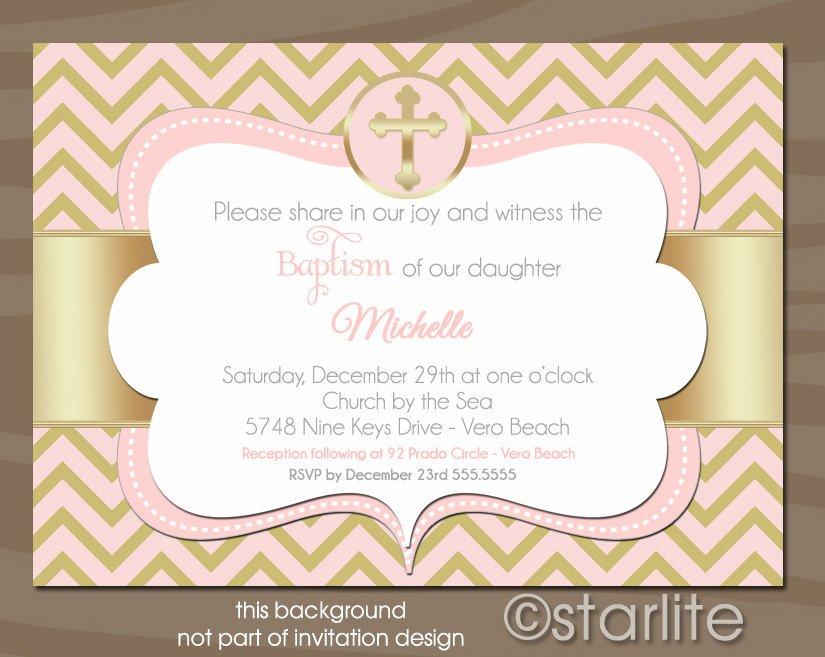 Christening Invitations For Girls