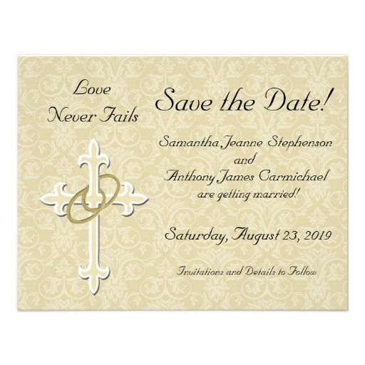 Christian Save The Date Cards