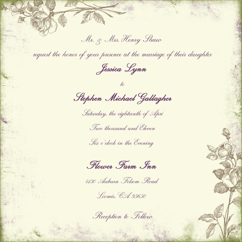 Christian Wording For Anniversary Invitations