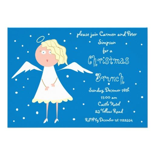 Christmas Brunch Invitations