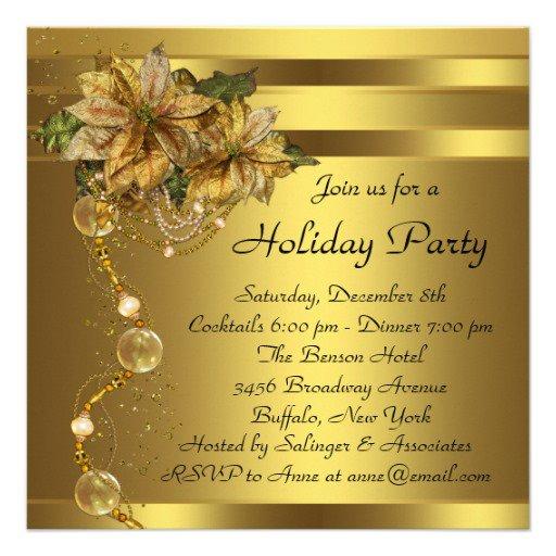 Christmas Gala Invitations