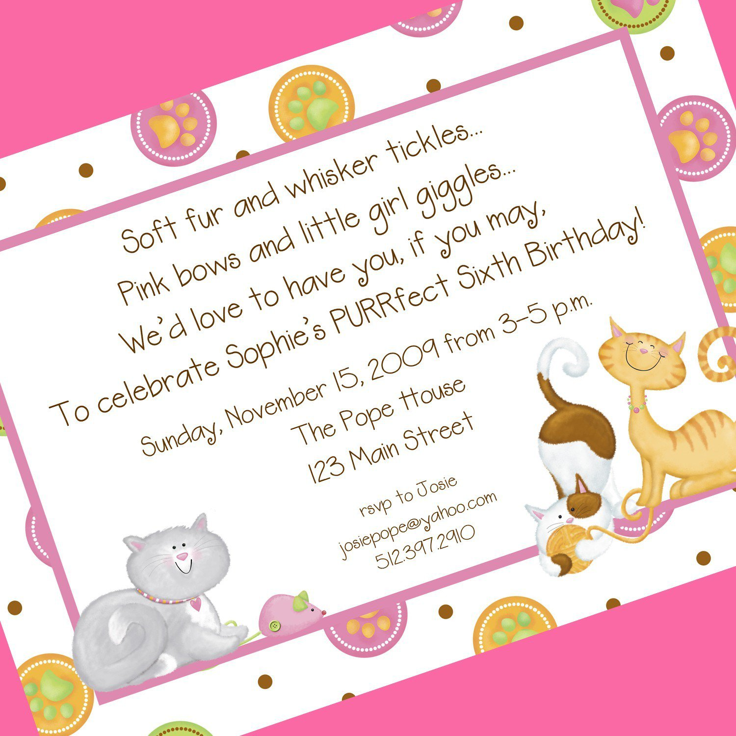 Invitation Quotes For 6th Birthday Party - Life Style By ...