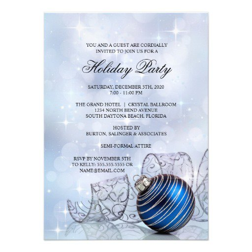 Christmas Party Invitation Templates Download