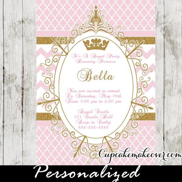 Princess Birthday Invitation Templates as perfect invitations design