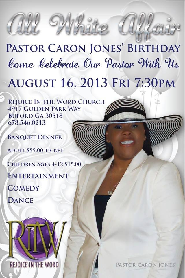 Church Banquet Invitation Wording