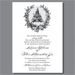 Cinderella Castle Wedding Invitations