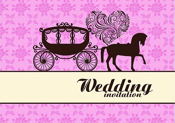 Cinderella Coach Wedding Invitations