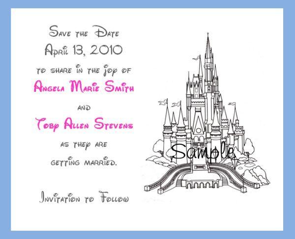 Cinderella Invitations Wedding