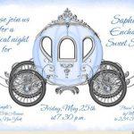 Cinderella Sweet 15 Invitations