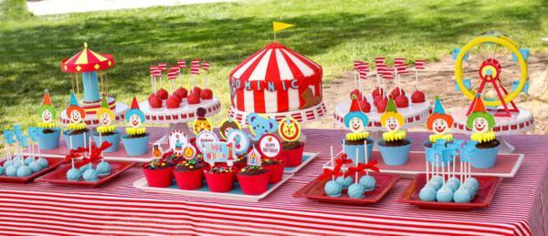 Circus Theme Party Invitation Ideas