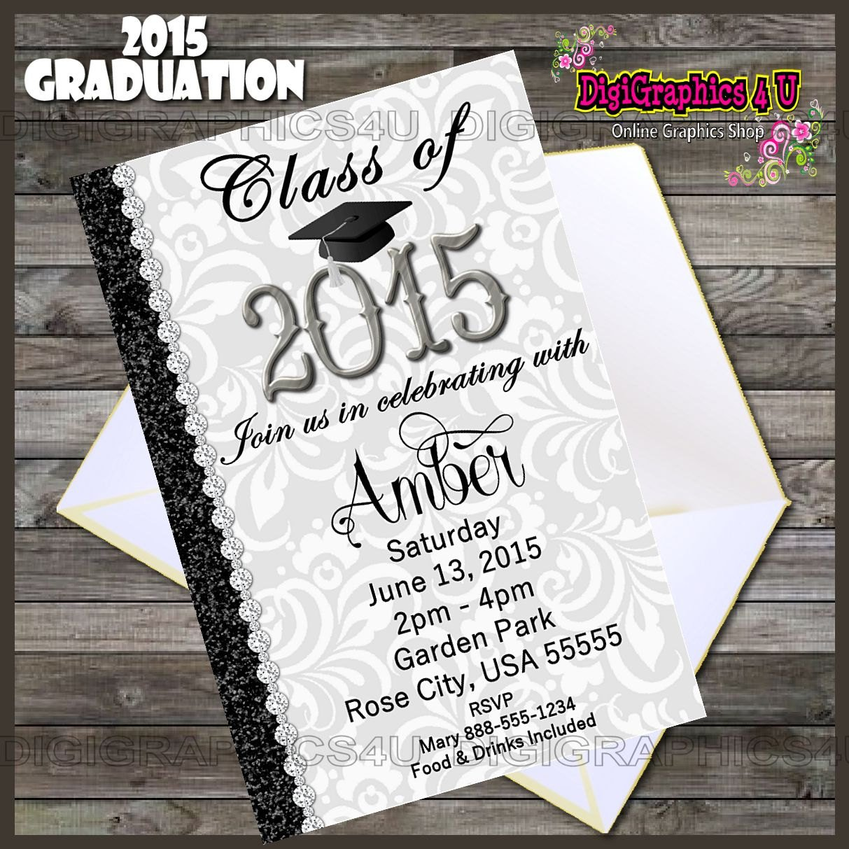 Class Graduation Invitation Templates Word For 2015