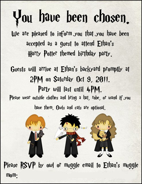 Clever Party Invitations