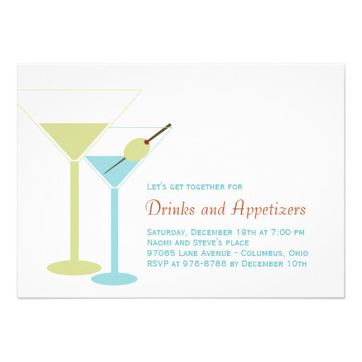 Cocktail Party Invitations Ideas