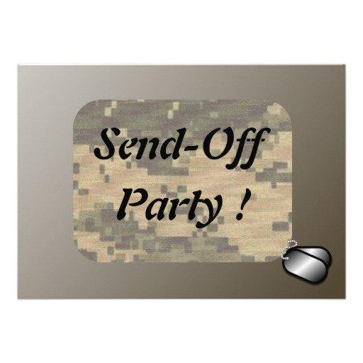 College Send Off Party Invitation Wording