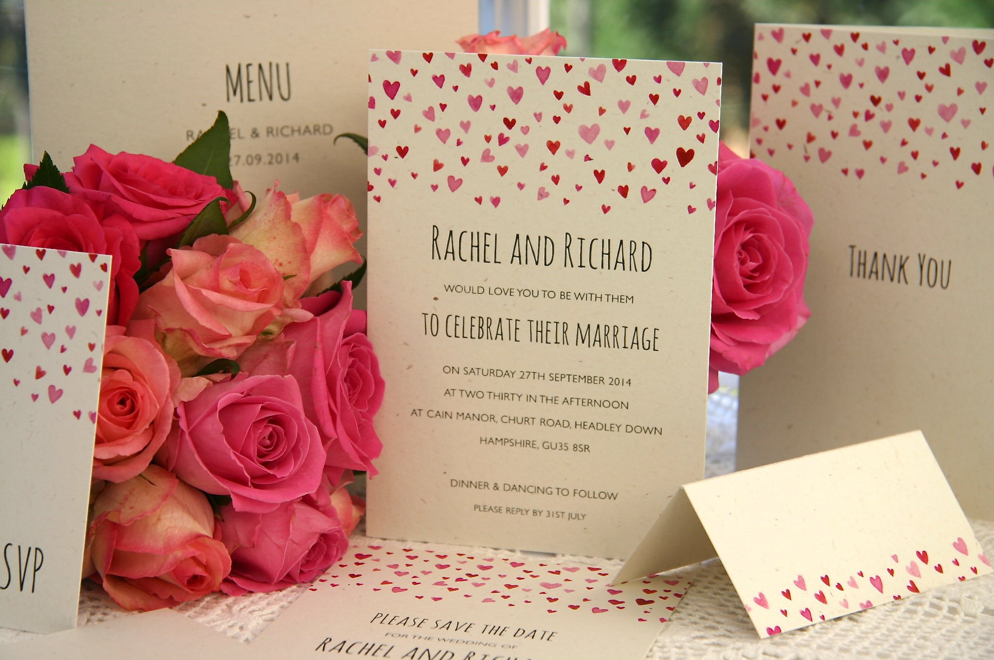 Confetti Wedding Invitations Uk