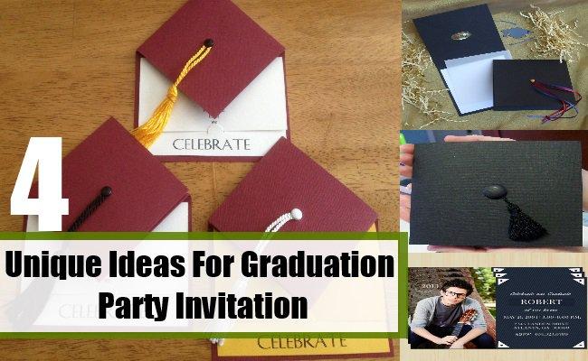Cute Graduation Invitation Ideas