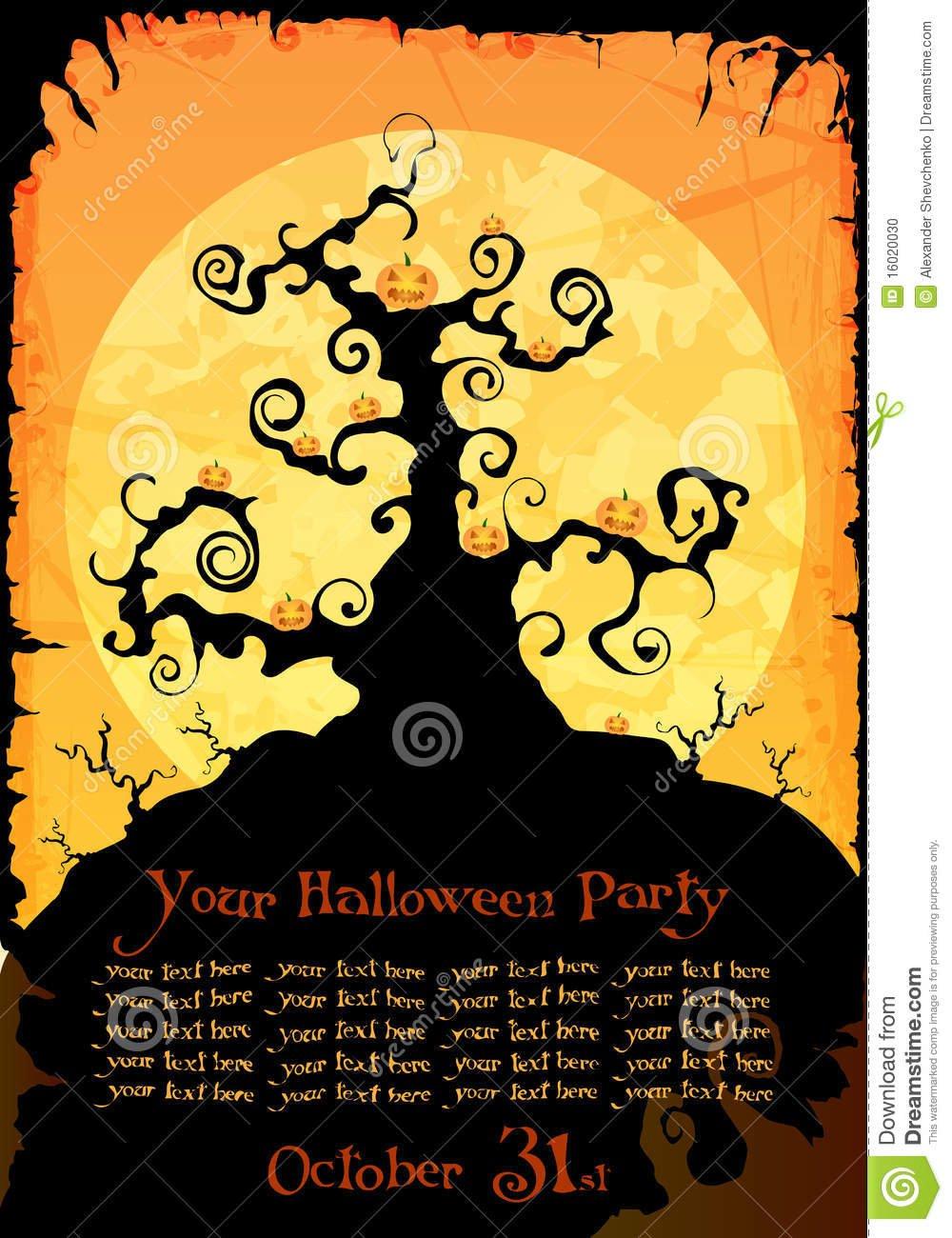 Cool Halloween Invitations