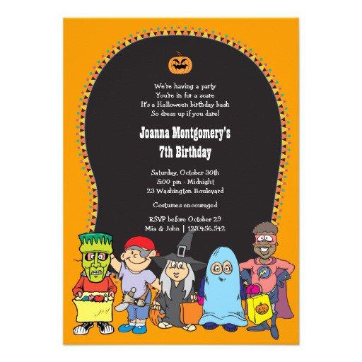 Costume Party Invitation Wording Ideas