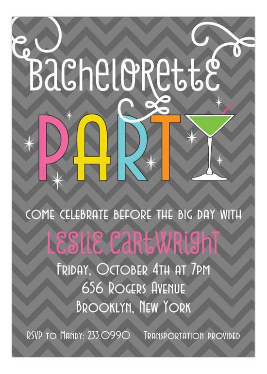 Couples Bachelor Bachelorette Party Invitations