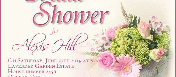 Couples Wedding Shower Invitation Wording Samples