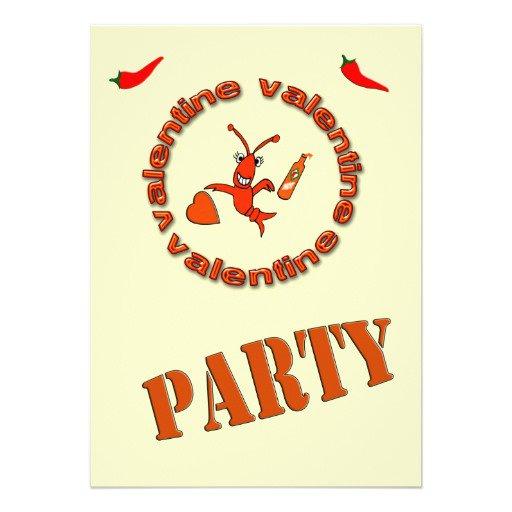 Crawfish Party Invitations