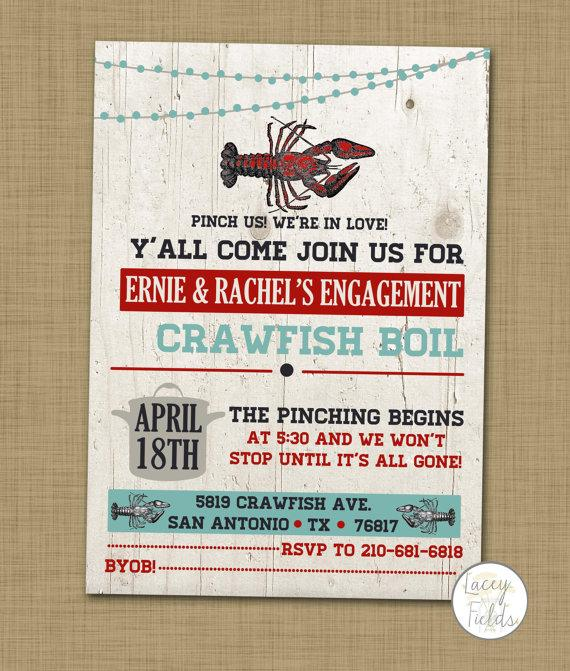 Crayfish Party Invitations