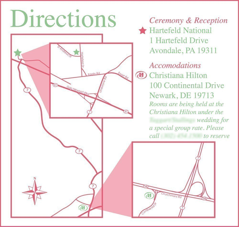 Create Printable Maps For Invitations