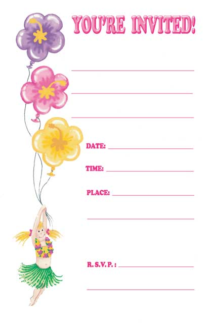 Creating Own Invitations