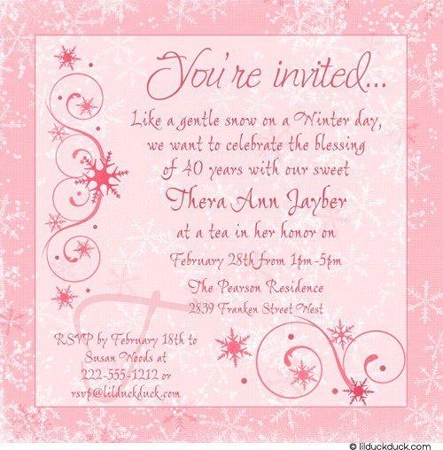 Creative Birthday Invitation Wording - Birthday invitation matter for adults