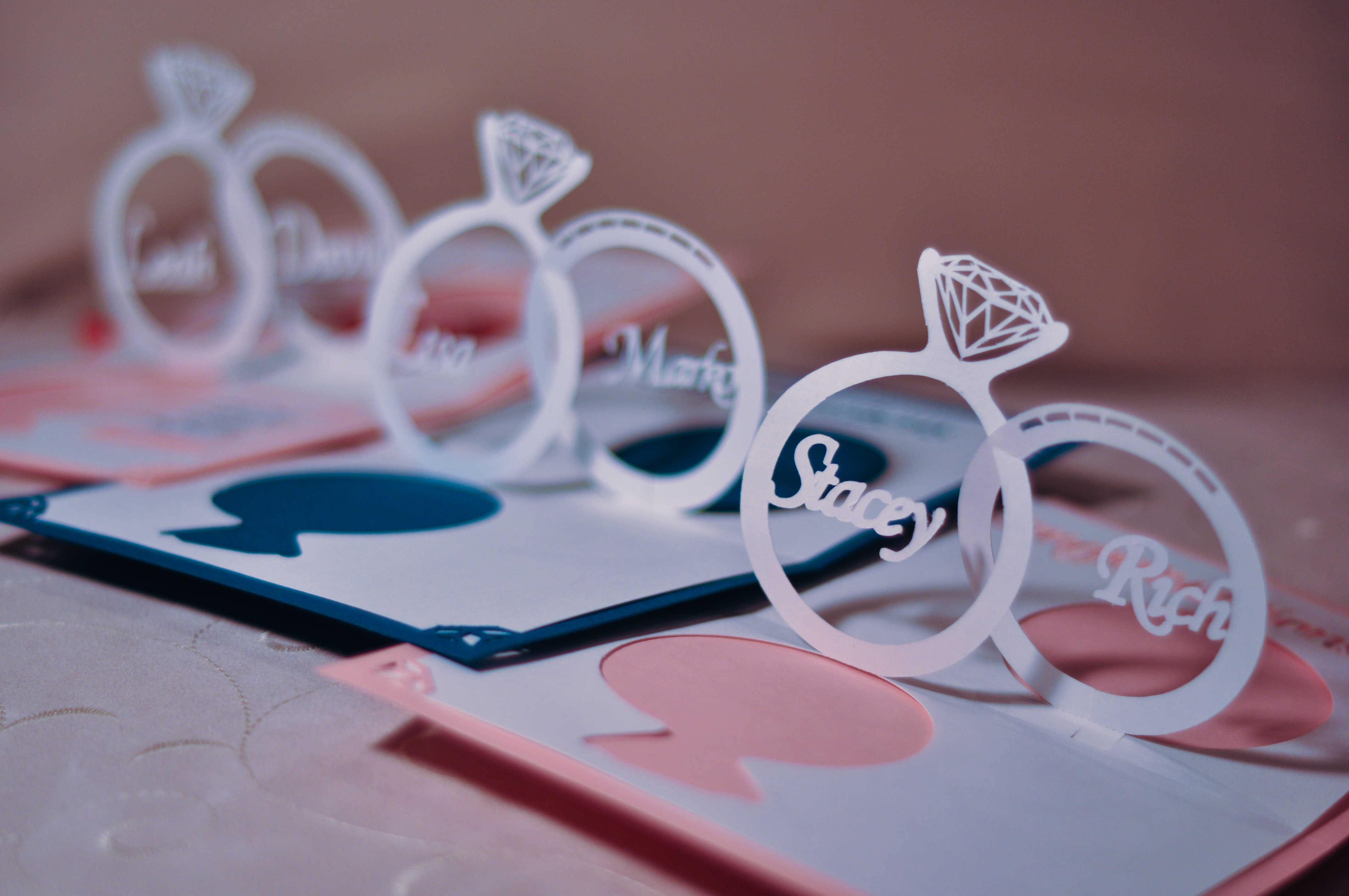 Creative Handmade Wedding Invitations