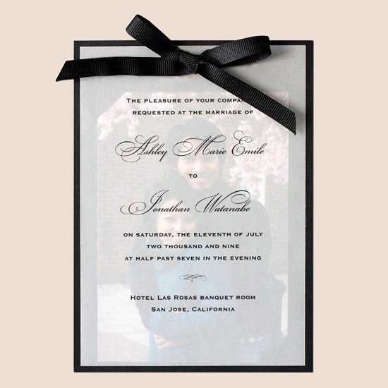 Creative Handmade Wedding Invitations