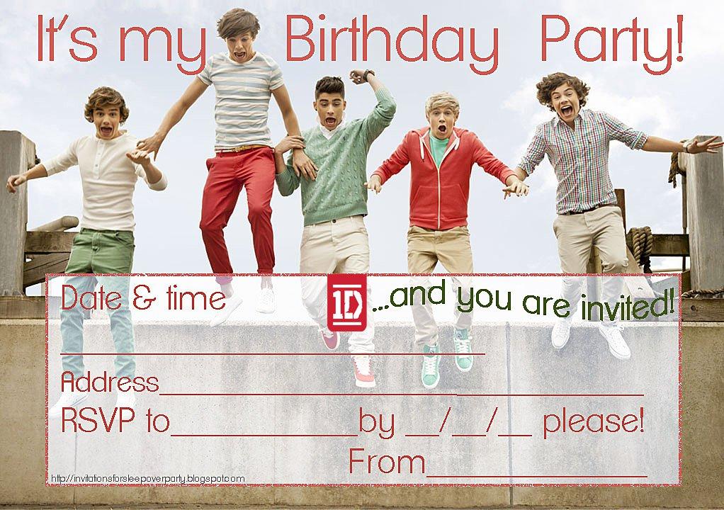 Creative Invitation Ideas For Birthdays