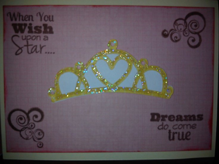 Cricut Princess Invitations