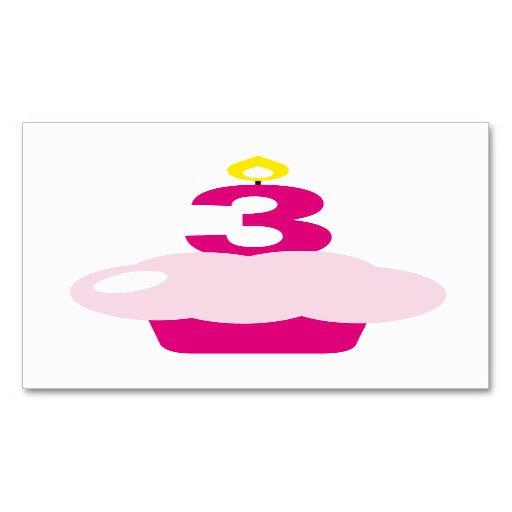 Cupcake Birthday Card Template