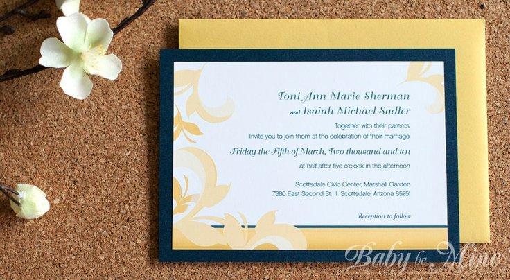 Custom & Unique Wedding Invitations