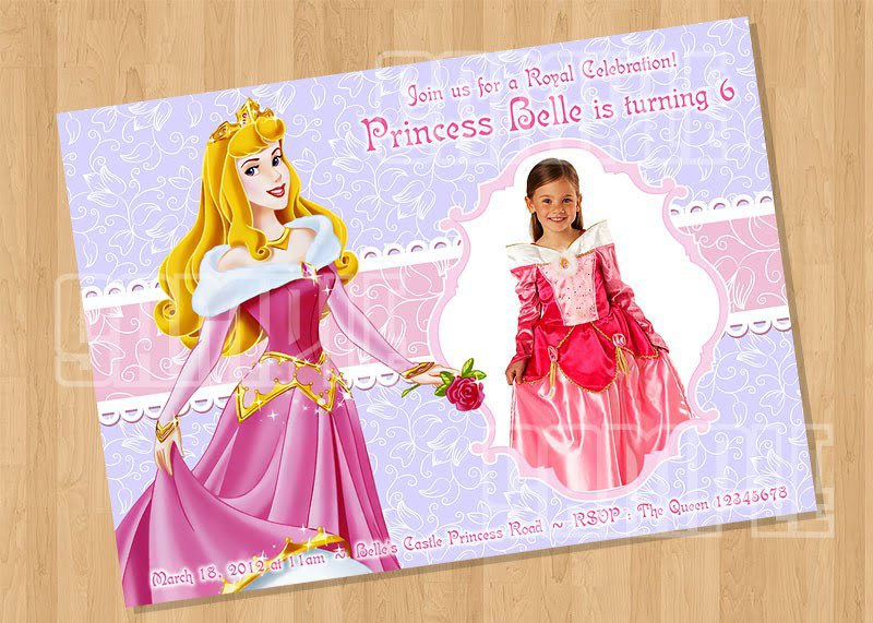 Custom Princess Invitations Online
