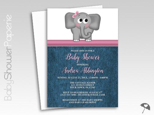 Custom Printed Invitations