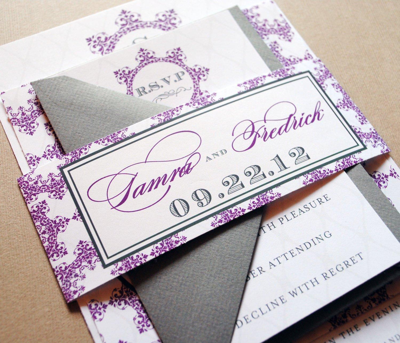 Custom Wedding Invitation Templates Free