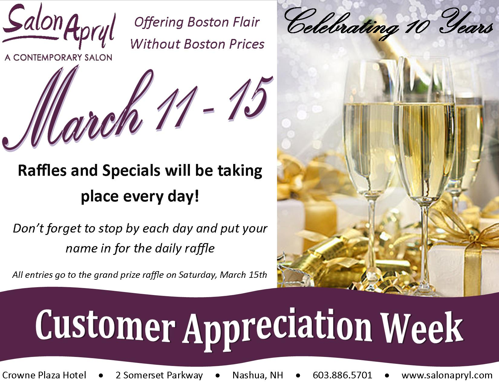 Customer Appreciation Invitation Designs