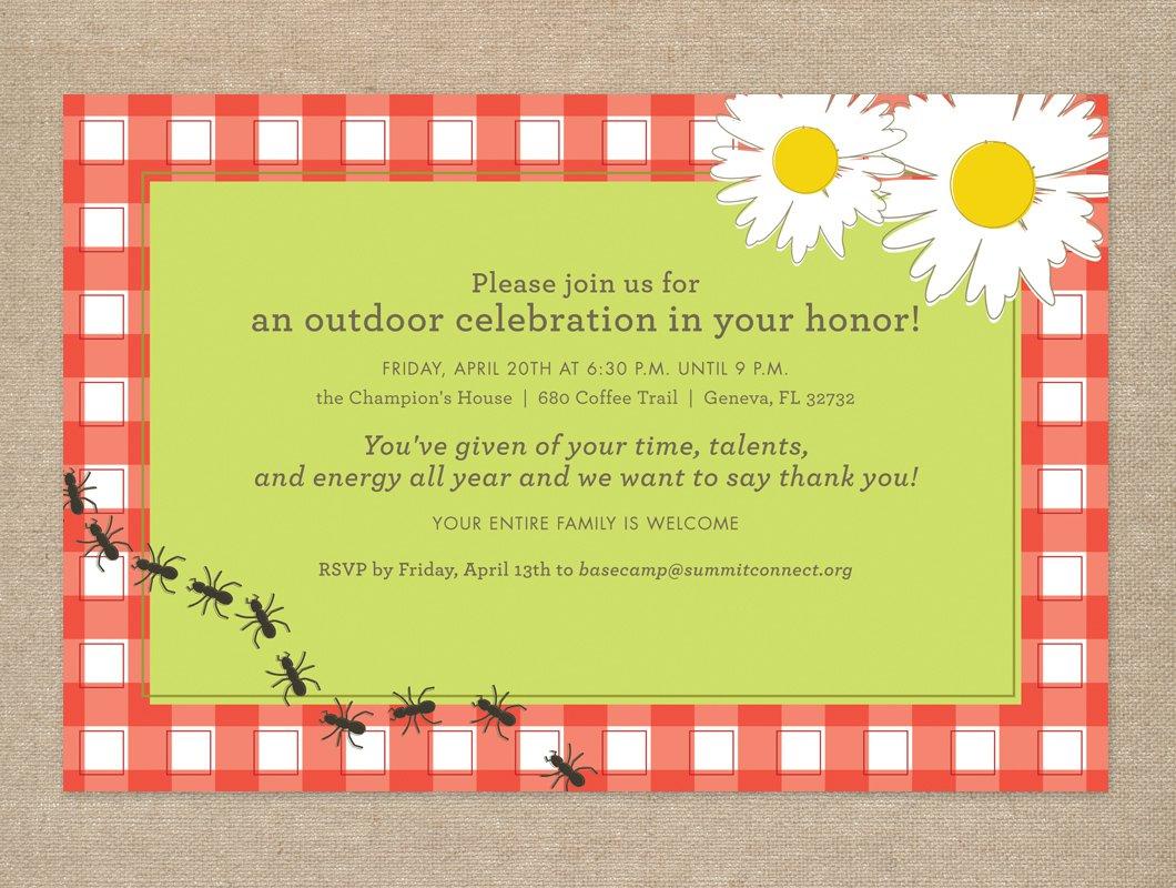 appreciation party invite shop client appreciation invitations a